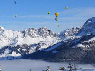 There's a whole lot of hot air in Salzburg this January...