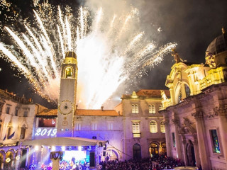 A winter fairytale festival in Dubrovnik